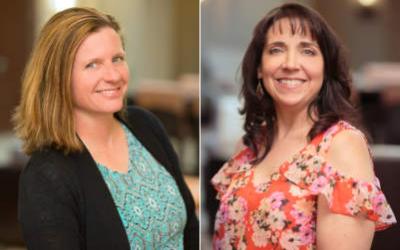Karen Utley and Amanda Jaksha of IFCR – Rare Disease Advocacy